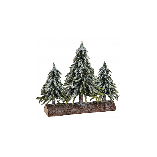 Kerstbomen Op Boomstam Deco Hobbymax kopen