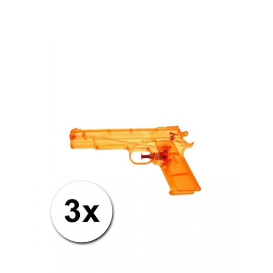 3 speelgoed waterpistolen doorzichtig   Hobbymax   de online hobby winkel