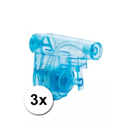 Kinderspeelgoed waterpistooltjes 5 cm 3 st   Hobbymax   de online hobby winkel