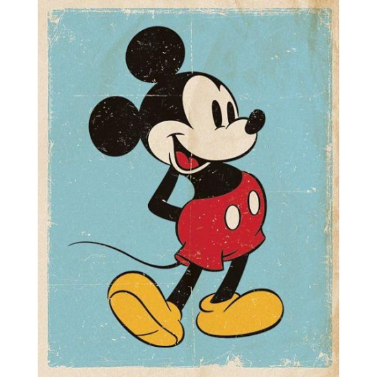 Muur decoratie Mickey Mouse
