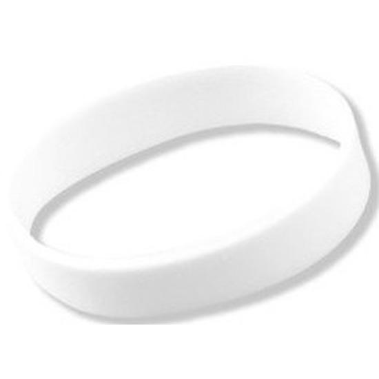 Witte polsbandjes