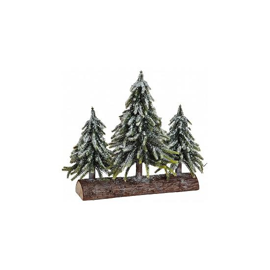 Kerstbomen Op Boomstam Deco kopen in de aanbieding