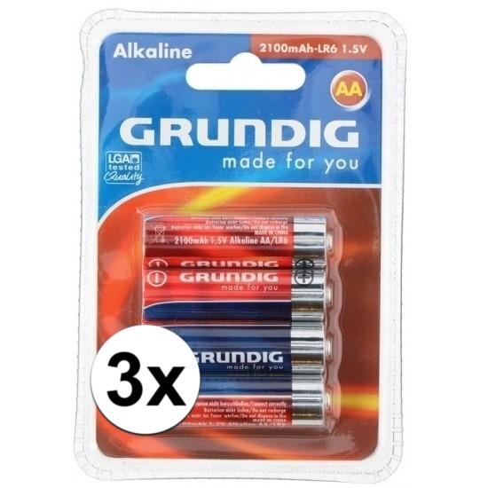 12x AA penlites batterijen