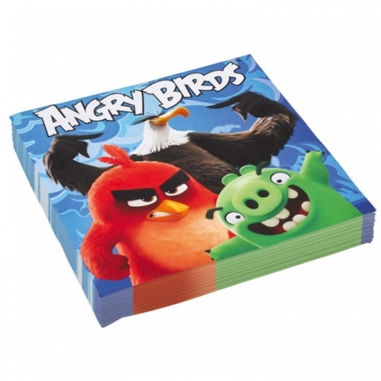 Angry Birds wegwerpservetten 20 x