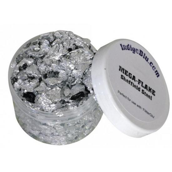 Decoratiemateriaal zilverklompjes