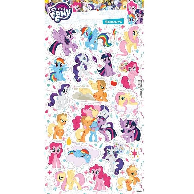 Kinderspeelgoed my little pony stickervel XL