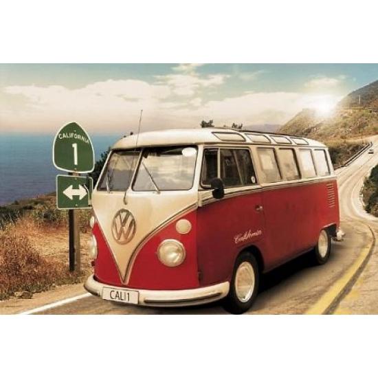 Muur decoratie Volkswagen Camper