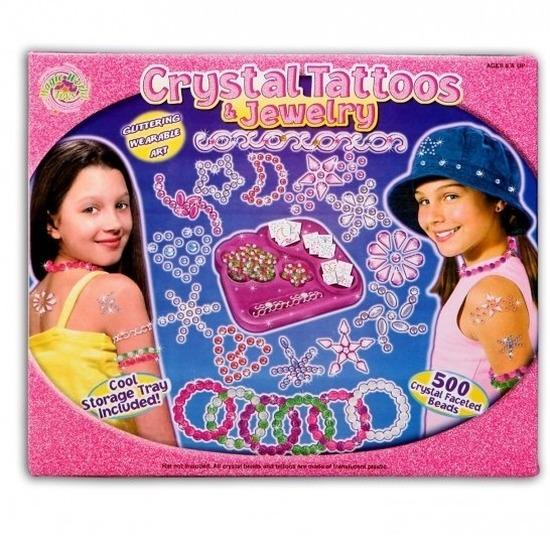 Plak sieraden tattoos met opberg box