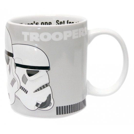 Star Wars mokken Storm Trooper