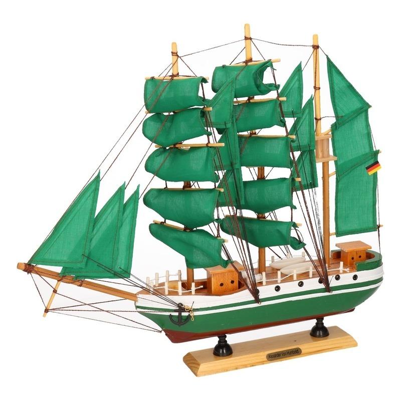 Tall ship Alexander von Humboldt